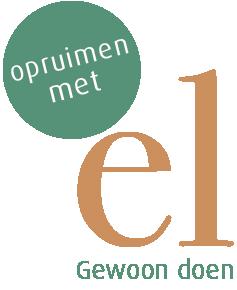 Opruimen Met El Logo